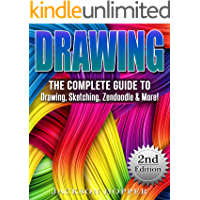 Drawing: The Complete Guide to Drawing, Sketching, Zendoodle