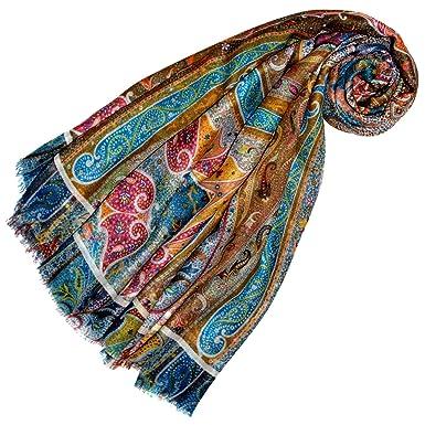 702b8679b362 Lorenzo Cana Pashmina de 98% Cachemire et 2% Soie pour la femme – écharpe