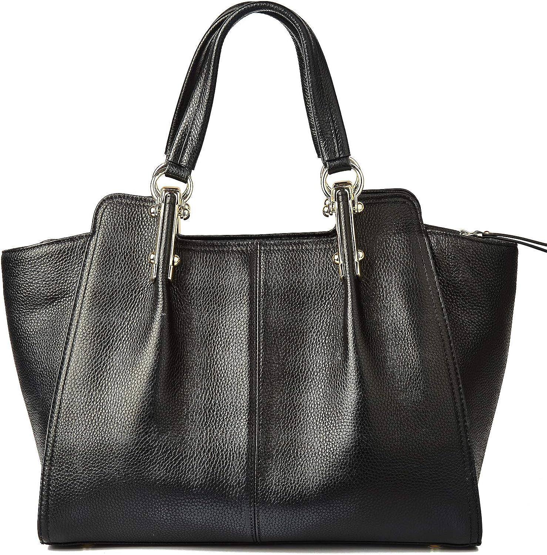 Real Leather Handbag for Women Top Handle Bag Satchel Shoulder Bags