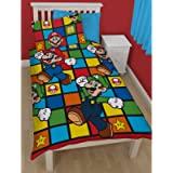 Nintendo Nintendo Retro Single Rotary Duvet Set