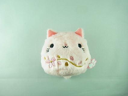 Sanei Neko Dango Sakura Cherry Blossom Pink 2020 Cat Plush Doll Toy 7cm Stuffed