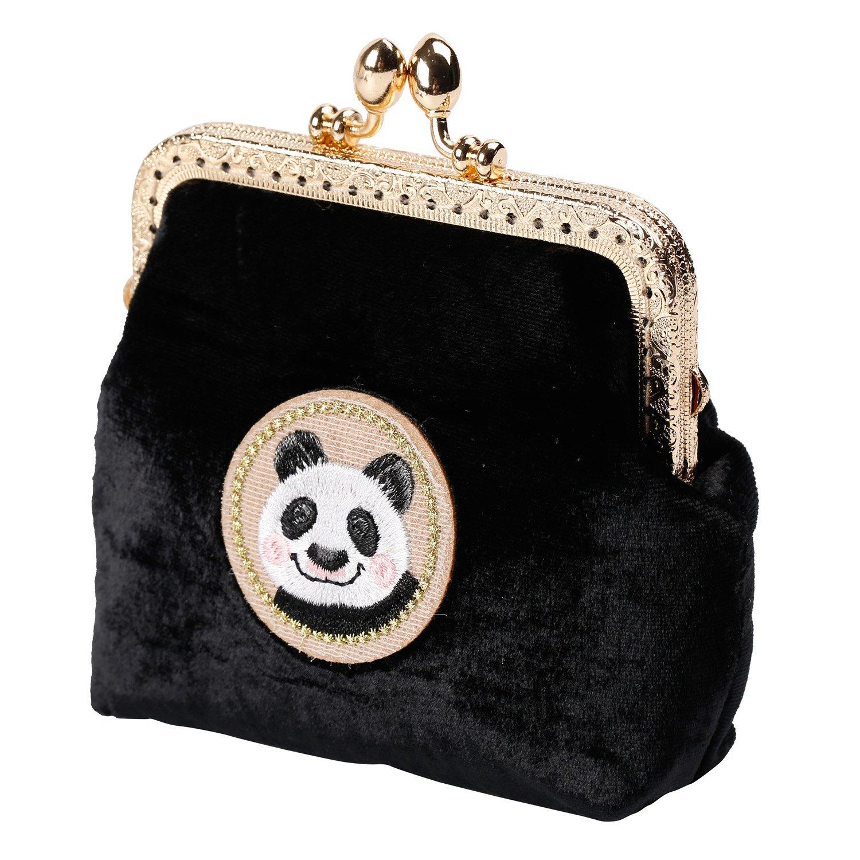 Kigurumi Womens Japanese Style Coin Silk Wallet Cosmetic Bag by Kigurumi (Image #2)
