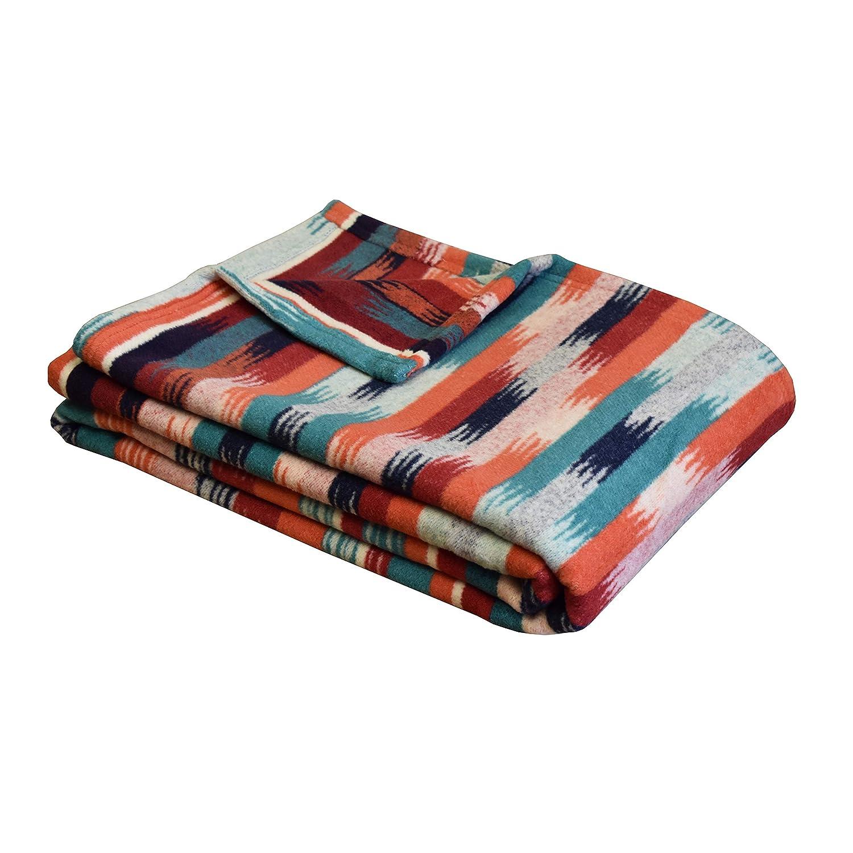 Amazon.com: Ibena Deluxe azteca manta, algodón/lana: Home ...