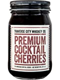 Premium Cocktail Cherries 21.2oz/600 grams by Traverse City Whiskey Co.