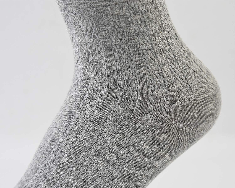 VIVIKI Womens Socks Super Soft Combed Cotton Socks Ankle Socks 3-Pack 311