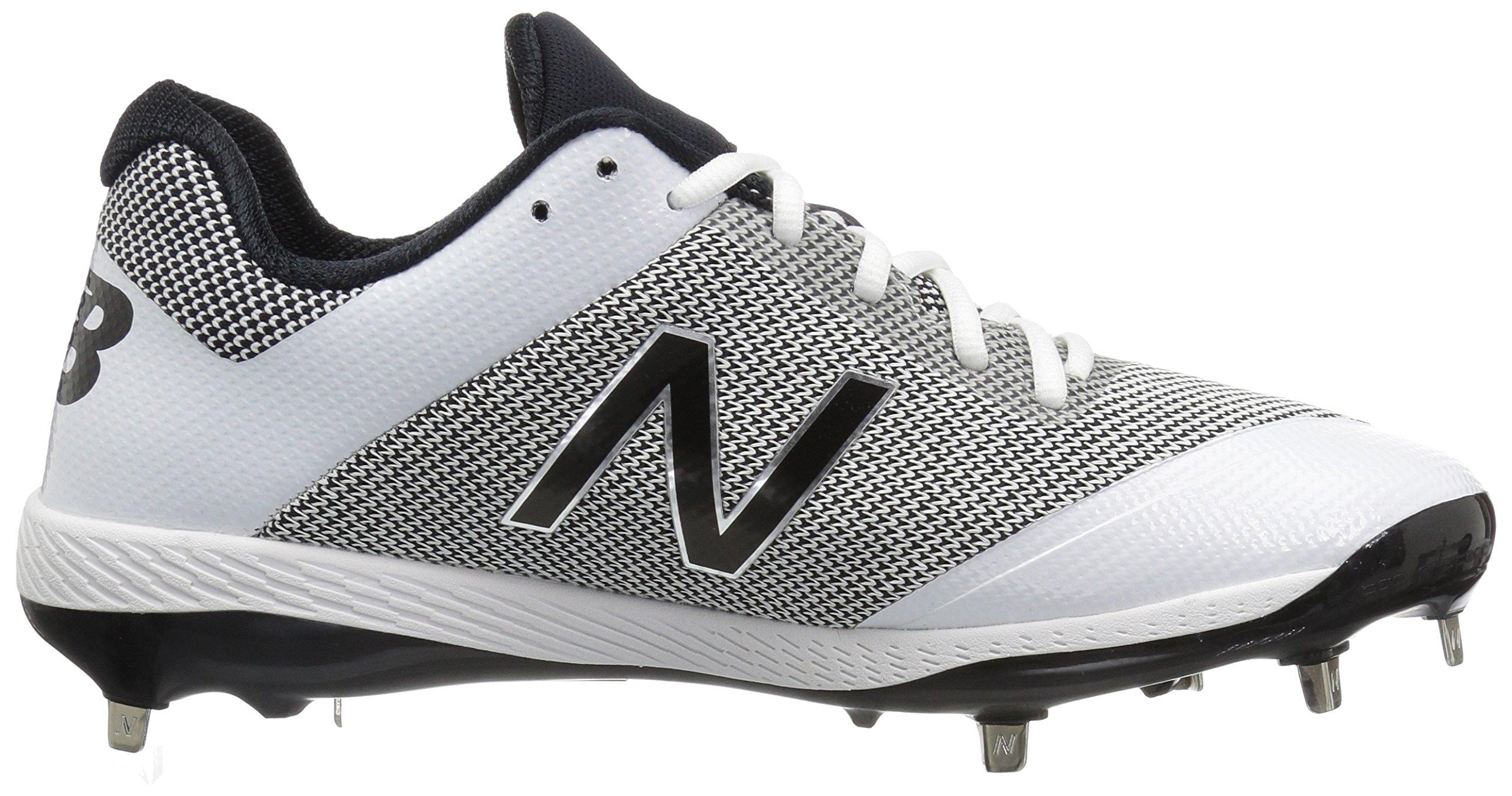 New Balance Men's L4040v4 Metal Baseball Shoe, Silver/Camo, 7.5 2E US by New Balance (Image #7)