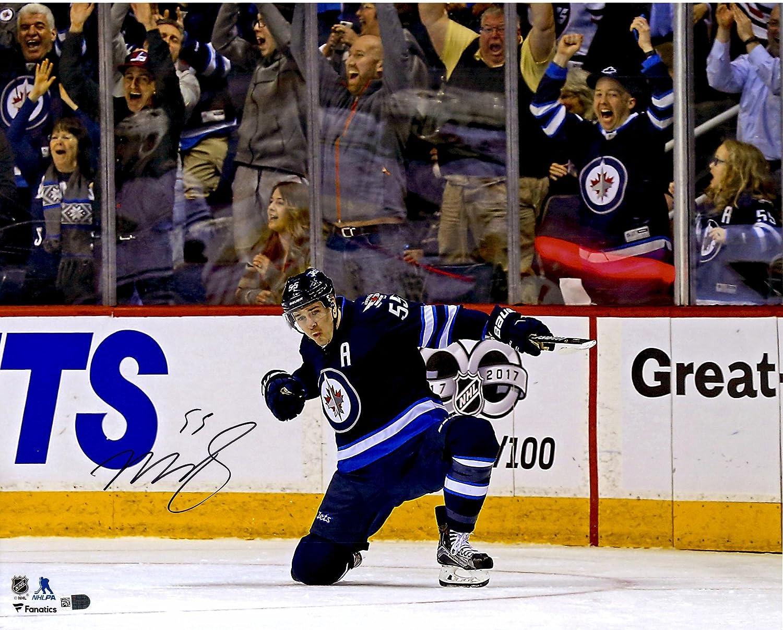 Mark Scheifele Winnipeg Jets Autographed 16 X 20 Goal Celebration Photograph Autographed Nhl Photos At Amazon S Sports Collectibles Store
