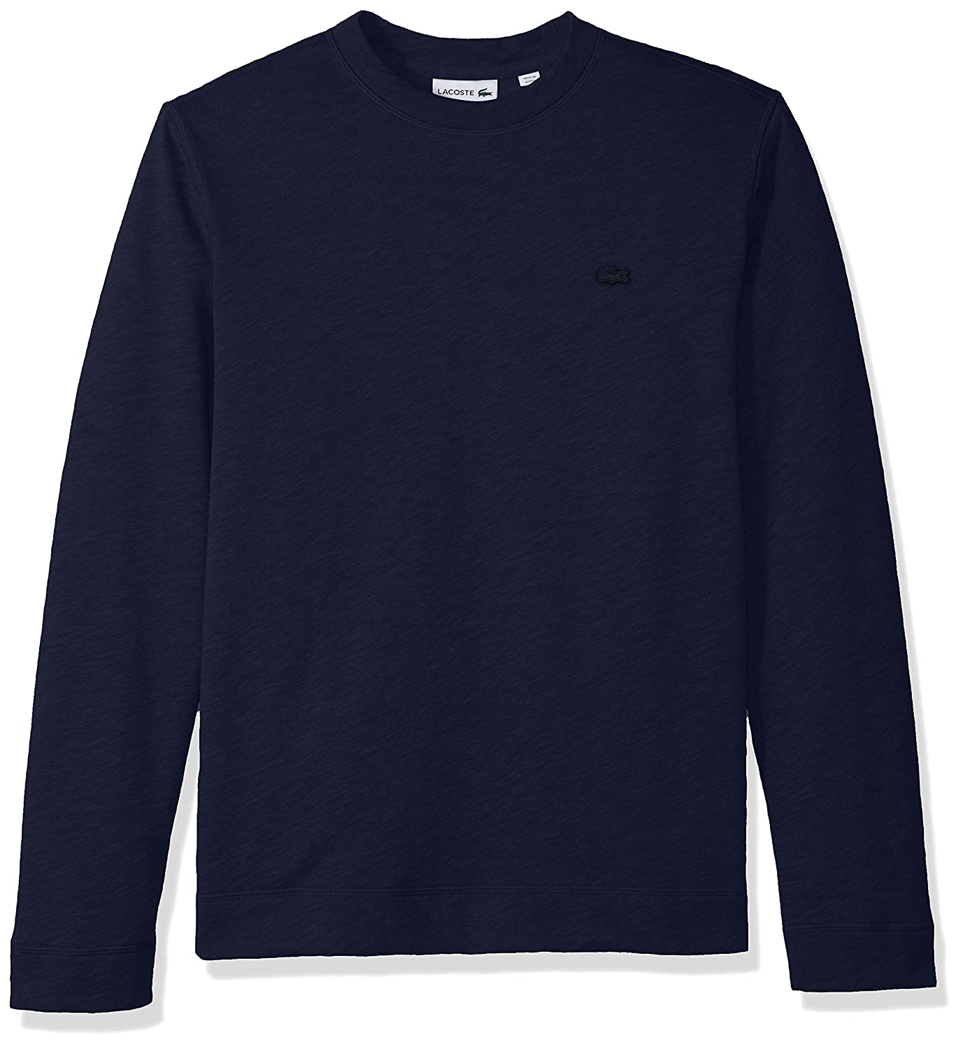 Lacoste Mens Light Brushed Fleece Sweashirt