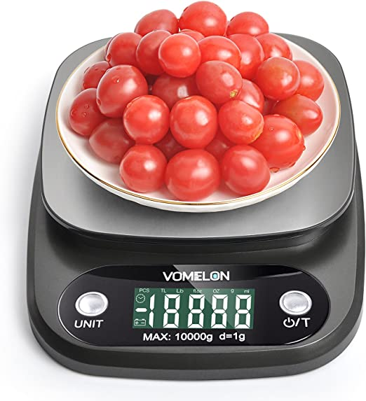 Wiegefläche 8 kg Profi Küchenwaage Edelstahl 1g Top  Qualität