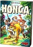 HABA 304321 - Honga, kniffliges Taktikspiel für die ganze Familie mit hochwertigen Spielfiguren aus Holz, für 2-5 Spieler von 8-99 Jahren