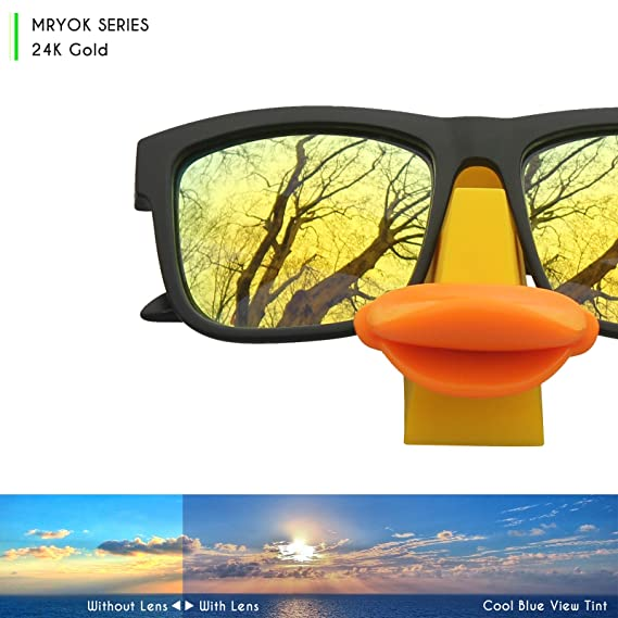 46bb9075088 Mryok Replacement Lenses for Oakley Holbrook Sunglasses - Rich Options   Amazon.co.uk  Clothing