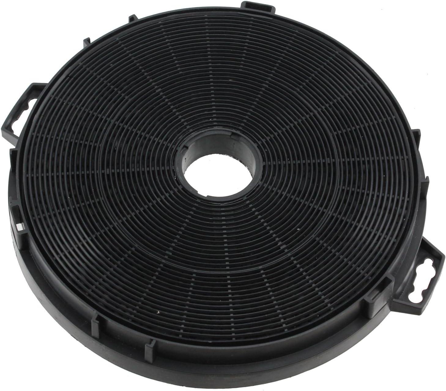 Spares2go Filtro de grasa de carbono universal para todas las marcas de campana extractora (210x 45mm)