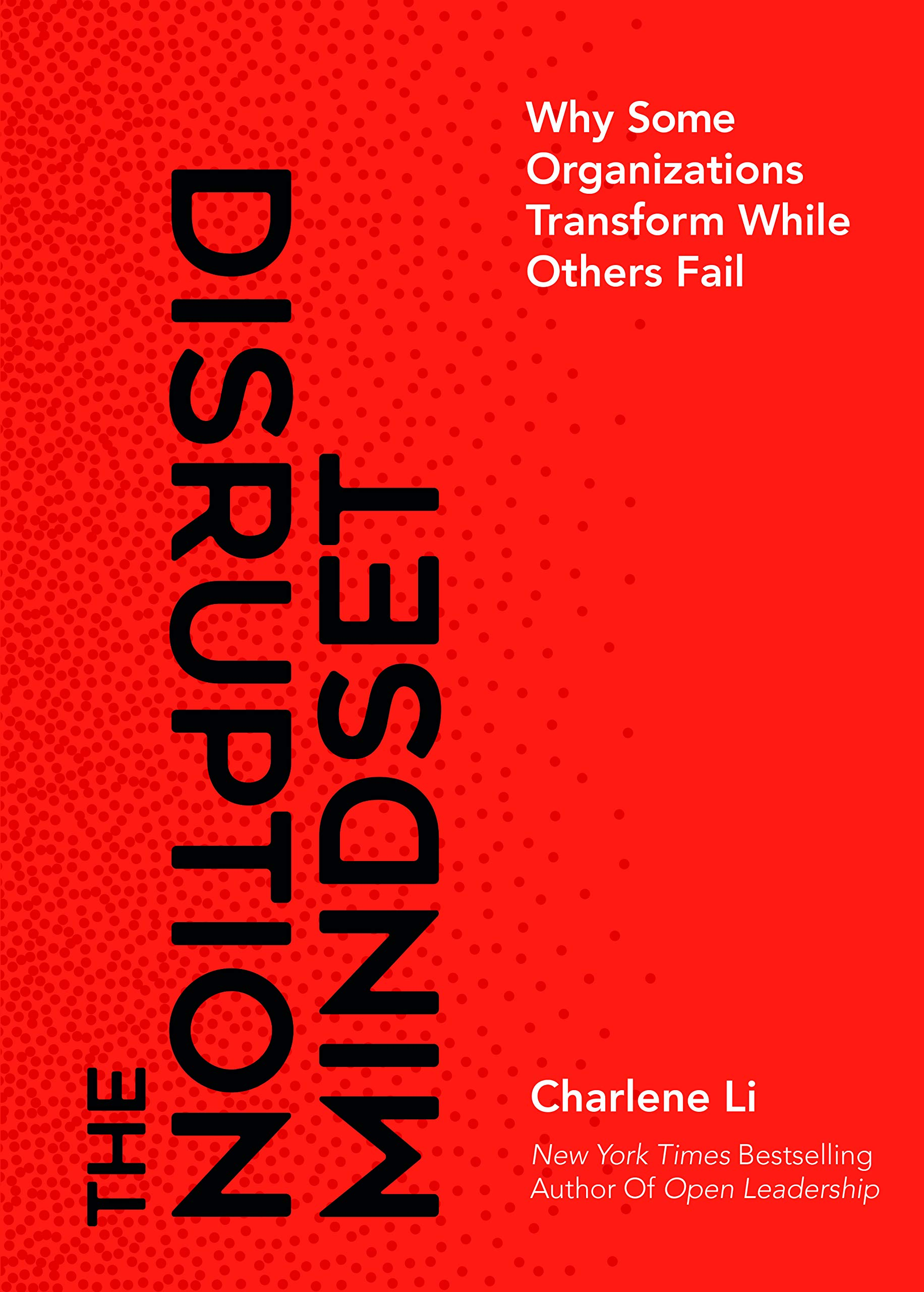 the disruption mindset book written by Charlene Li
