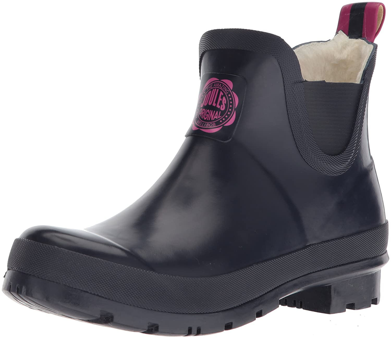 Joules Women's Wellibob Rain Boot B077NQ2G5H Women's 7|French Navy