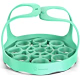 Silicone Bakeware Sling Compatible With Instant Pot, Ninja Foodi Pressure Cookers - Reusable Silicon Trivet Rack Lifter With