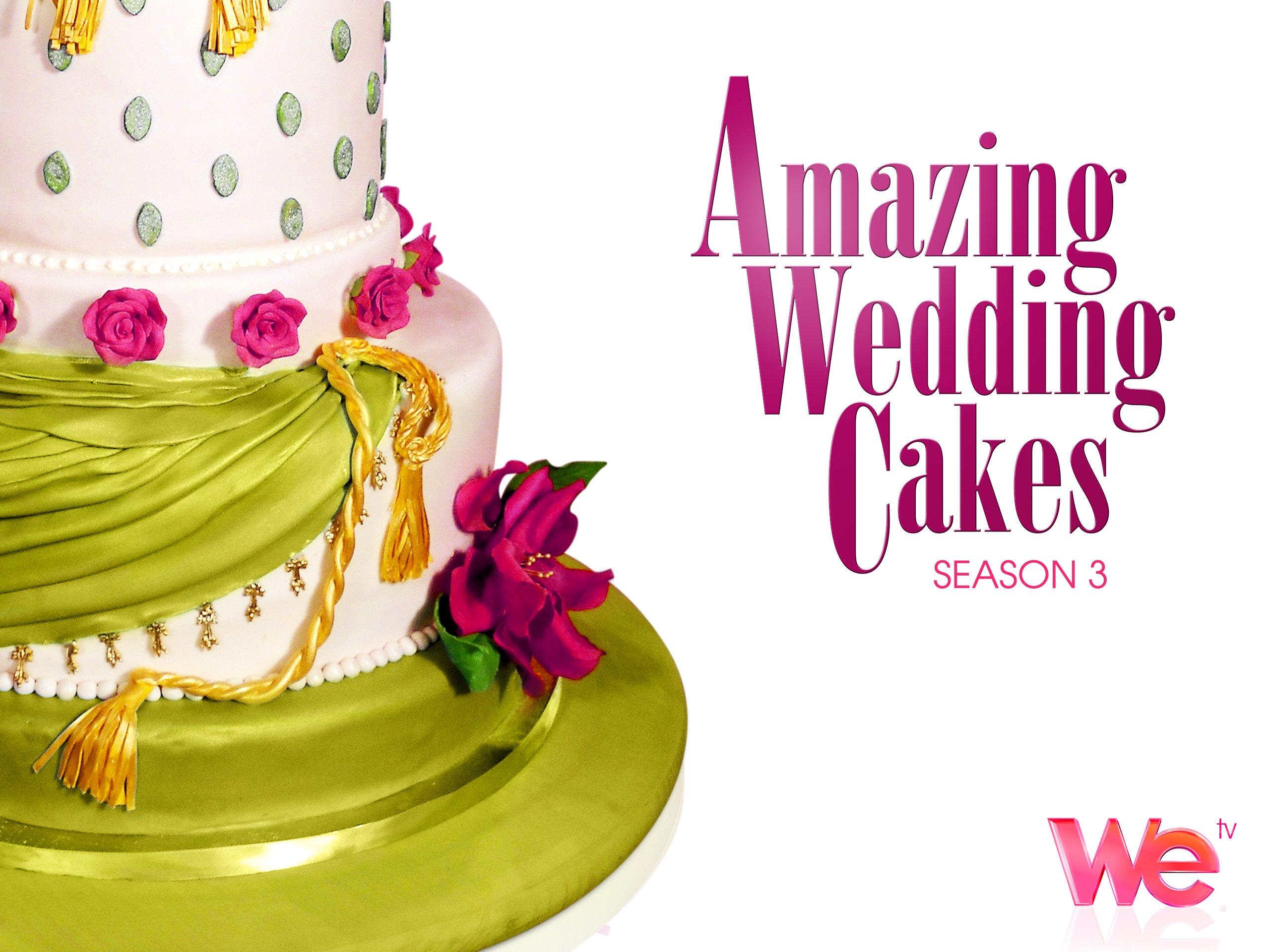 Amazon.com: Amazing Wedding Cakes Season 3: WE tv: Amazon Digital ...