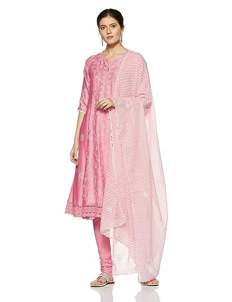 d238c7f30c7 BIBA Women s Anarkali Salwar Suit  Amazon.in  Clothing   Accessories