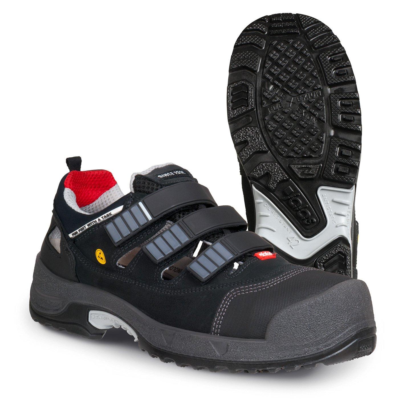 Jalas 3008 Zenit S1P Sandale mit ESD Schutz 40 Schwarz