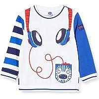 Camiseta Punto Manga Larga NIÑO Azul Sea Riders