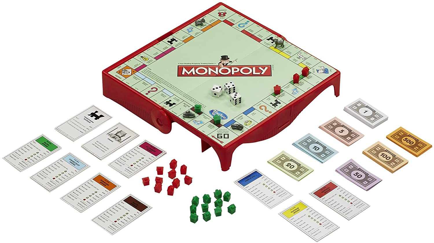 Monopoly Grab And Go Board Game Hasbro Games