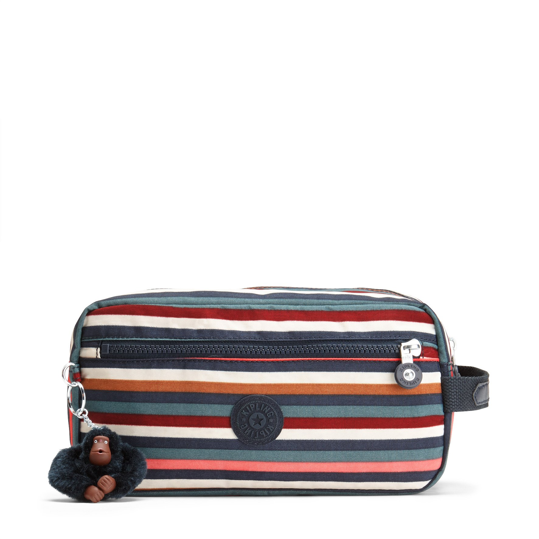 Kipling Women's Agot Multi Stripes Large Toiletry Bag by Kipling