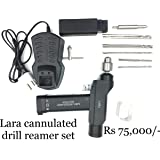 Lara cannulated power drill with battery and charger