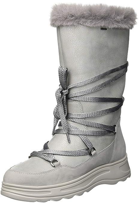ccfabf91896 Geox Women's D Hosmos B ABX B Snow Boots: Amazon.co.uk: Shoes & Bags