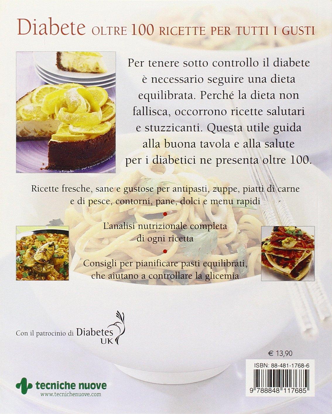 dieta per menu diabetici
