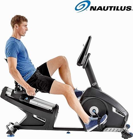Nautilus R626 - Bicicleta Estática Reclinada, Bluetooth, MP3 ...
