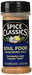 Spice Classics Soul Food Seasoning Salt, 5.12-oz. plastic shaker