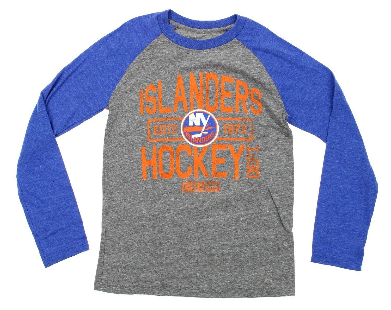 Various Teams NHL Big Boys Youth Distressed Graphics Tri Blend Raglan Shirt