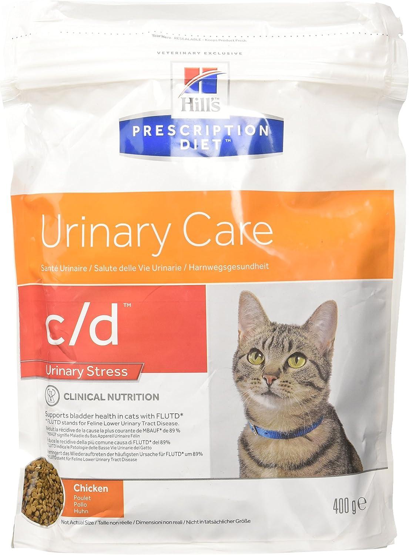 Hill's Feline C/D Urinary Stress Comida para Gatos - 400 gr