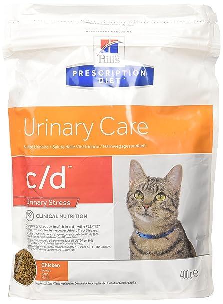 Hills Feline C/D Urinary Stress Comida para Gatos - 400 gr