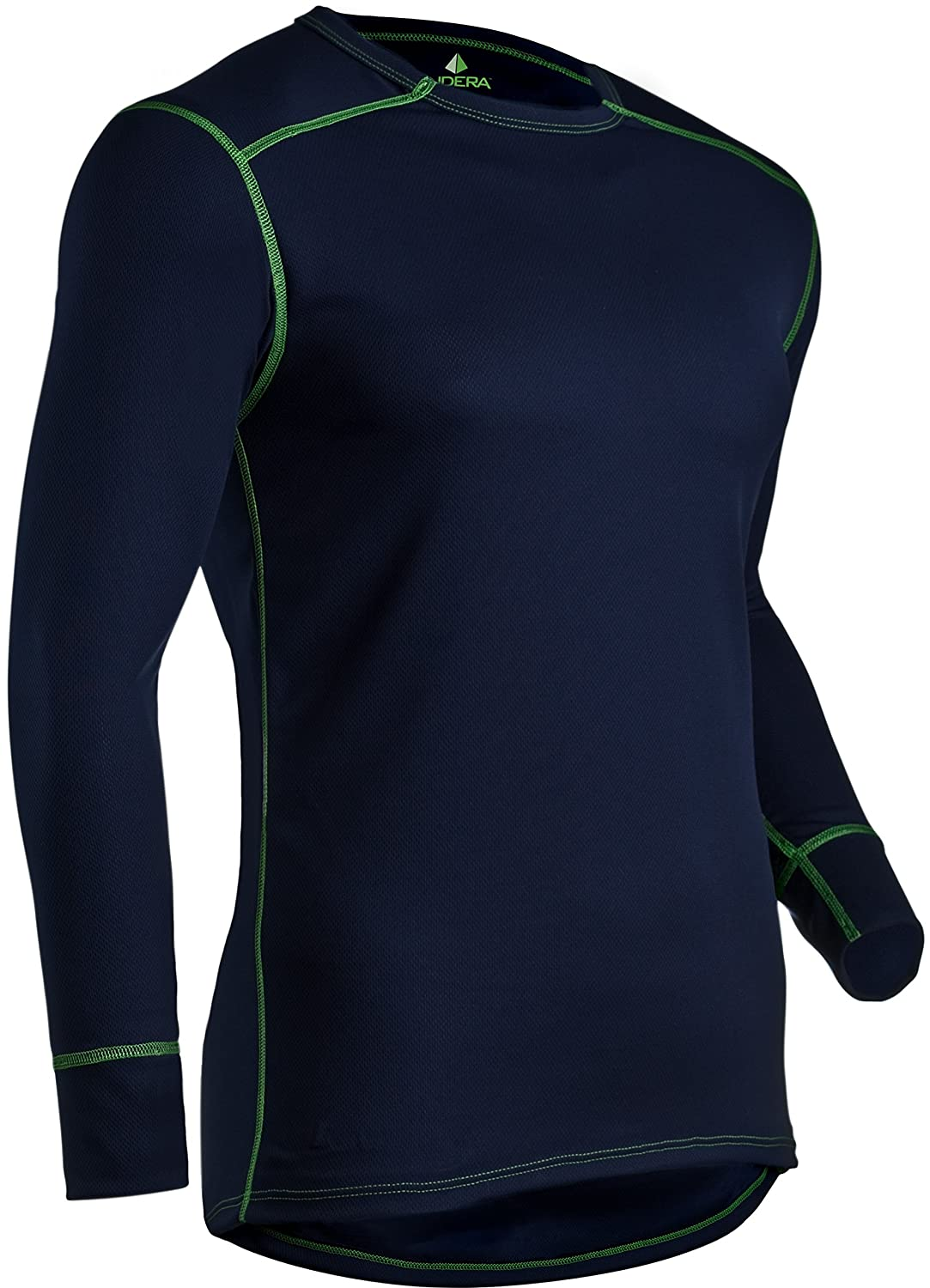 Indera Men's Mesh Knit Performance Thermal Underwear Top with Silvadur