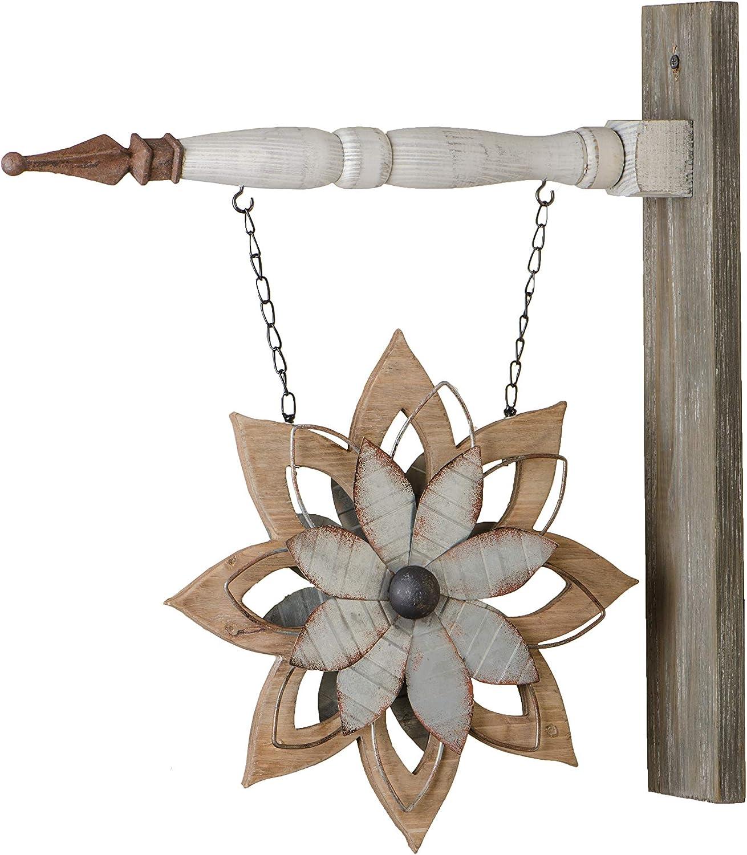 K&K Interiors Arrow Replacement Decorative Hanging Sign, Wood - 13648A