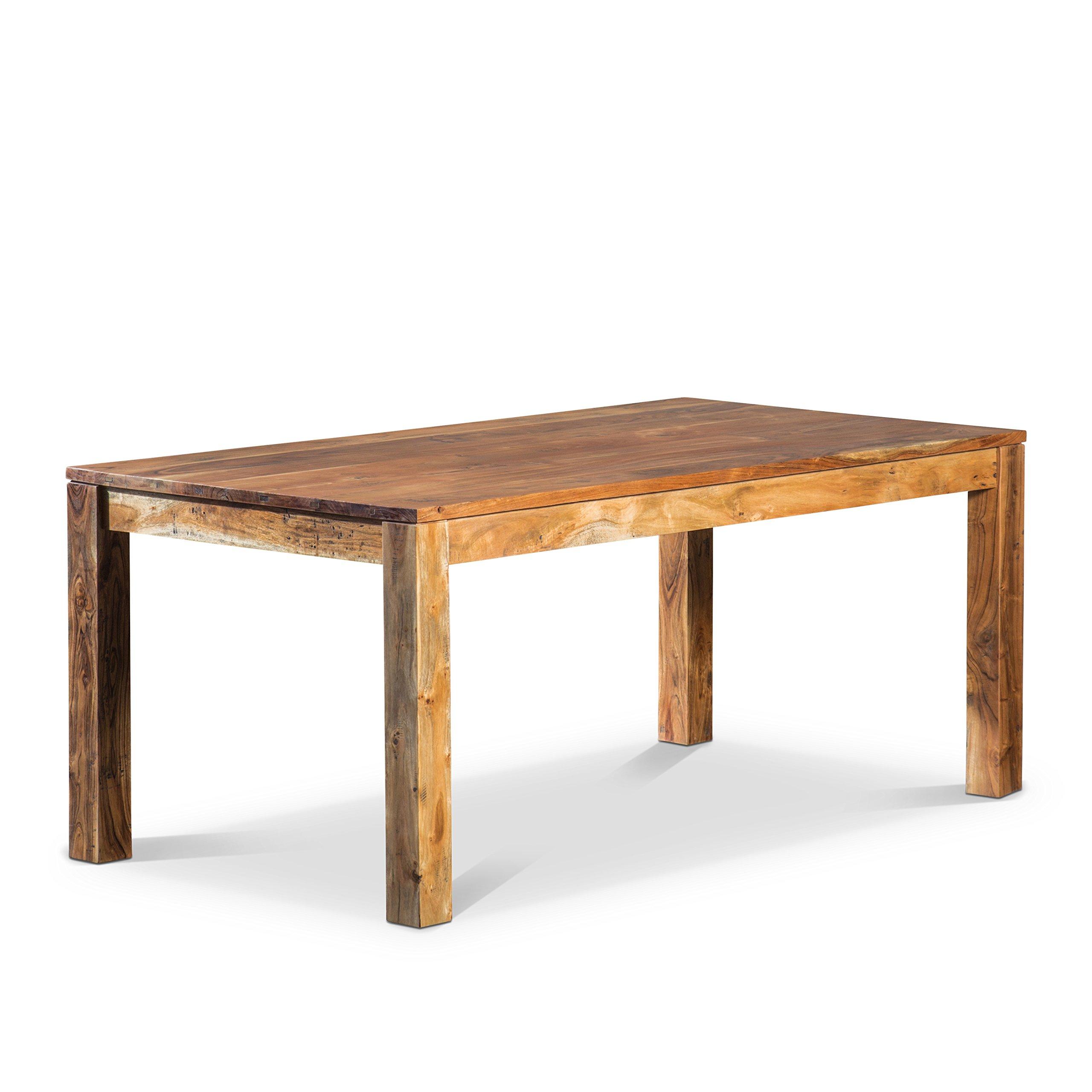 Artemano Romy Table Made of Acacia Wood, 58''x40''x30''