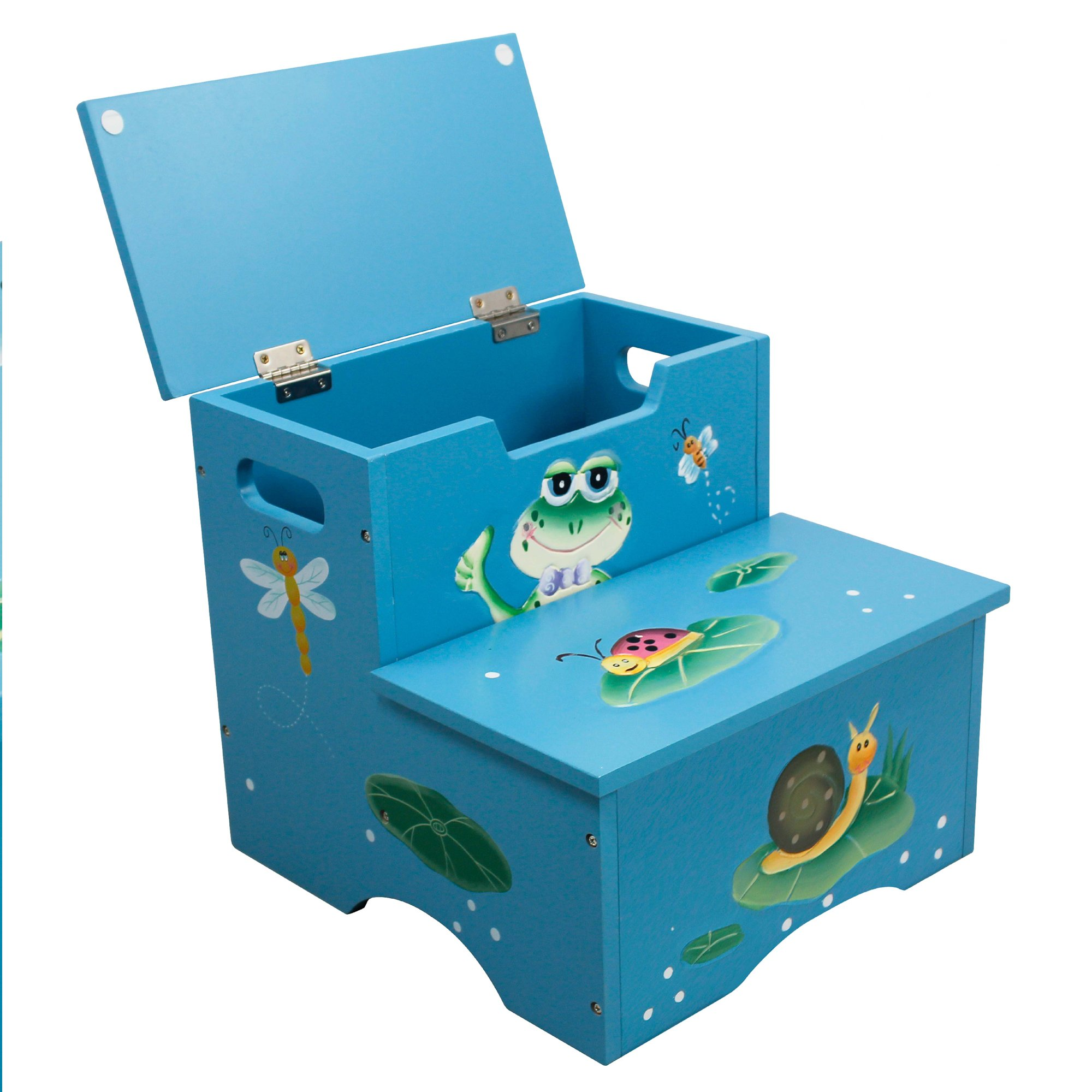 Fantasy Fields Froggy Thematic Kids Wooden Step Stool
