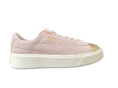 Glam Platform 39euamazon Chaussure A4ql3j5r Suede Taille Puma Rose w08nmN