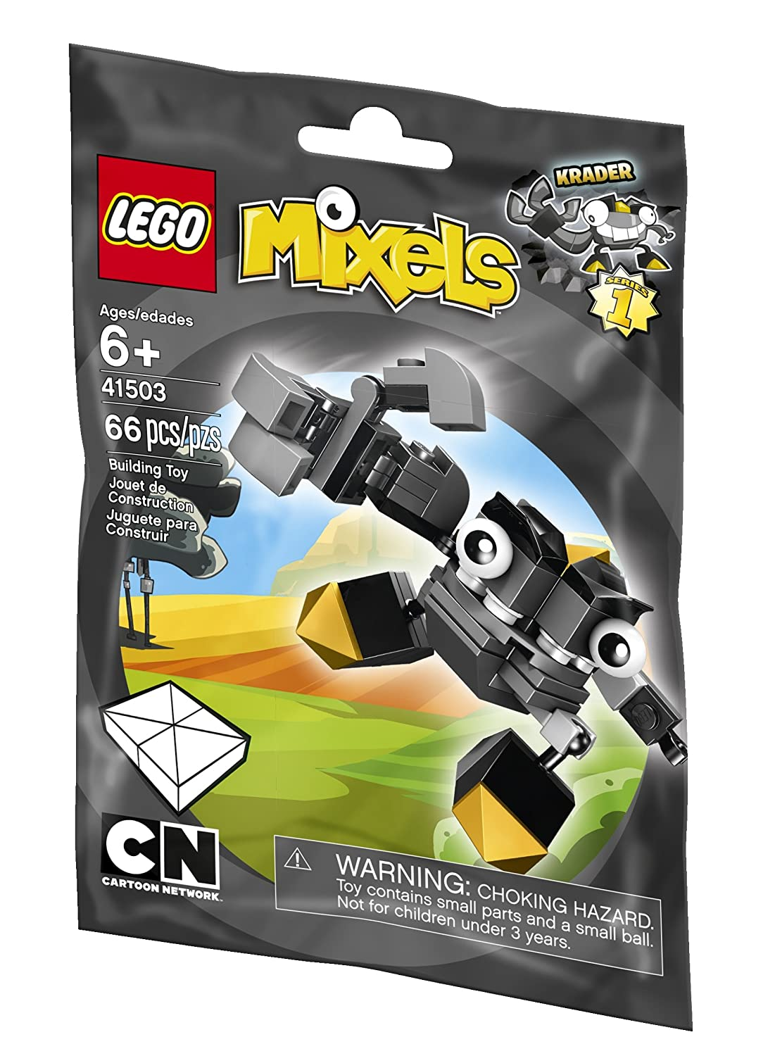 LEGO 41504 Cartoon Network SEISMO Mixels Series 1 Cragsters Tribe Polybag