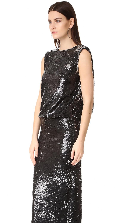 77df8a69fbfcc Amazon.com: Rachel Zoe Women's Colette Sequin Gown: Clothing