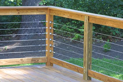 Wire Railings | Raileasy Turnbuckle For Cable Railing S0981 0004 Decking