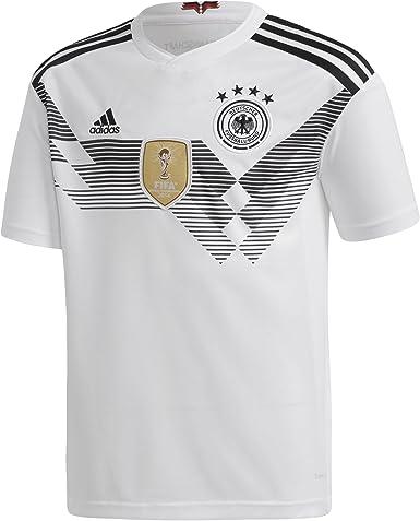 adidas DFB Home 2018 Camiseta de Equipación, Niños: Amazon.es: Ropa y accesorios