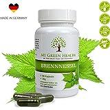 Brennnessel-Extrakt Kapseln vegan getrocknete Brennnessel-Blätter 60 Stück 800mg | Made in Germany