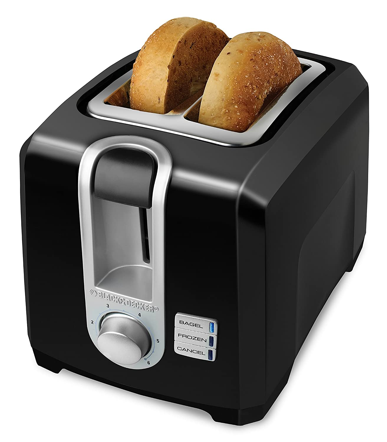 Quilted Kitchen Appliance Covers Amazoncom Black Decker T2569b 2 Slice Toaster Bagel Toaster