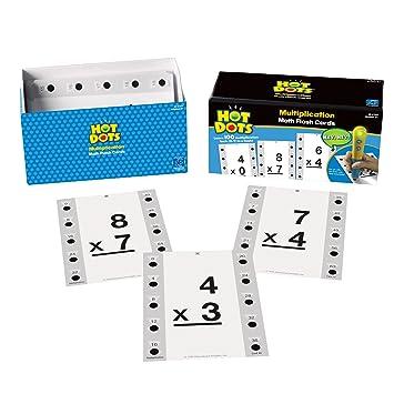 Awe Inspiring Amazon Com Educational Insights Hot Dots Math Flash Cards Easy Diy Christmas Decorations Tissureus