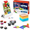 Osmo - Genius Starter Kit, Ages 6-10 - Math, Spelling, Creativity & More - STEM Toy Educational Learning Games (Osmo Base Inc