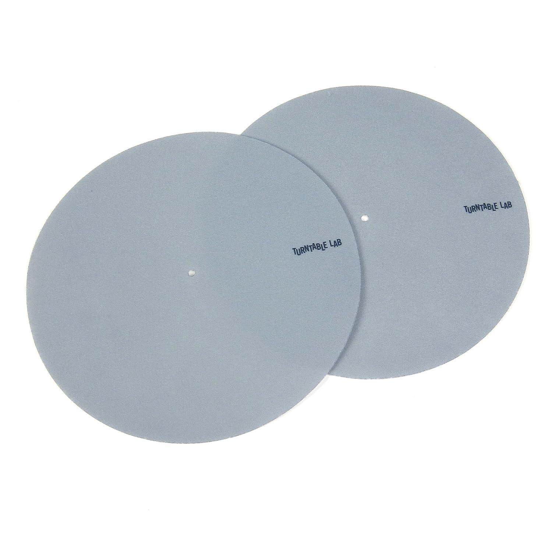 Turntable Lab: Pro Thin Slipmats (Technics Style) - Grey (Pair) 4334204770