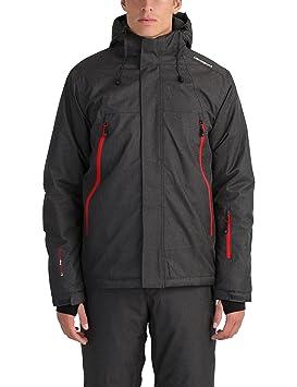 1908a393335ecb Ultrasport Veste de ski pour homme - Blouson chaud pour homme hiver - Veste  chaude pour homme imperméable - Veste sports d'hiver et loisirs homme