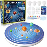 Solar System for Kids Science Experiments Model Building Kit, Glow in The Dark Paint Crafts Stem Projects for Kids Ages 8-12