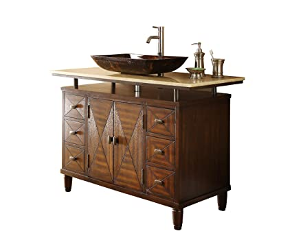 48 Verdana Vessel Sink Bathroom Vanity Faucet Vessel All